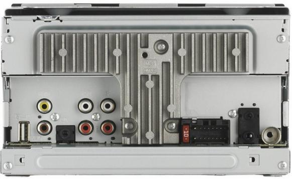 Pioneer MVH-AV270BT. Vista posteriore