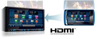 Clarion NX706e. Porta HDMI