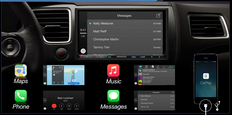 CarPlay - Kenwood