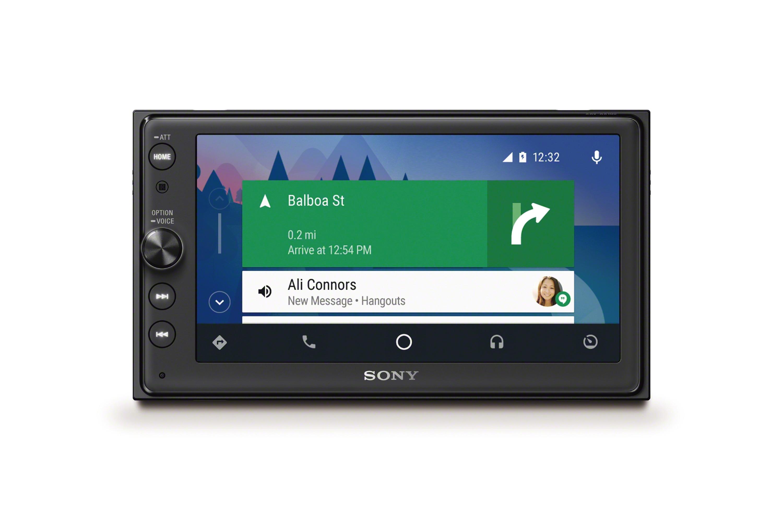 Android Auto su XAV-AX100