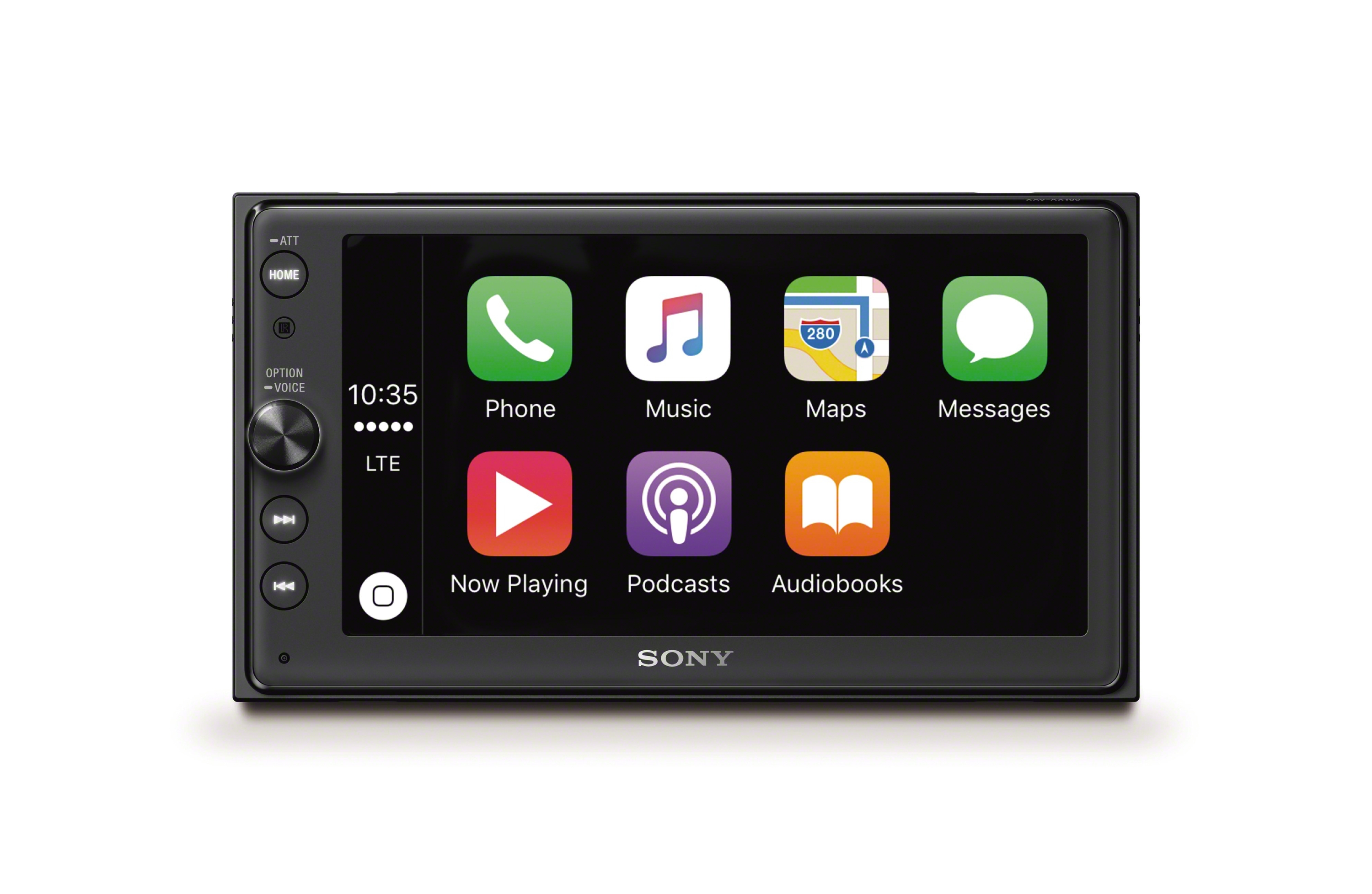 CarPlay su Sony XAV-AX100