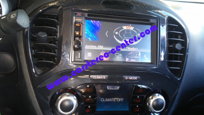 Kenwood DNX3160BT su Nissan Juke