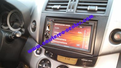 Kenwood DNX3160BT su Toyota Rav4