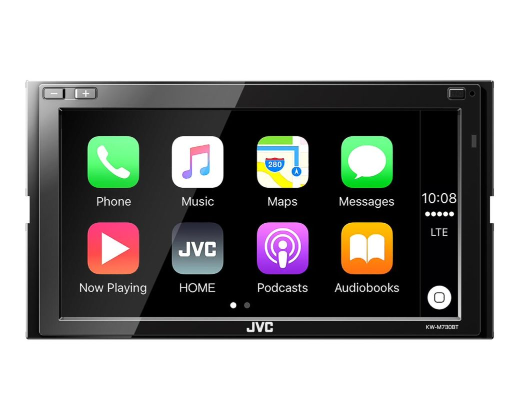 KW-M730BT. carPlay