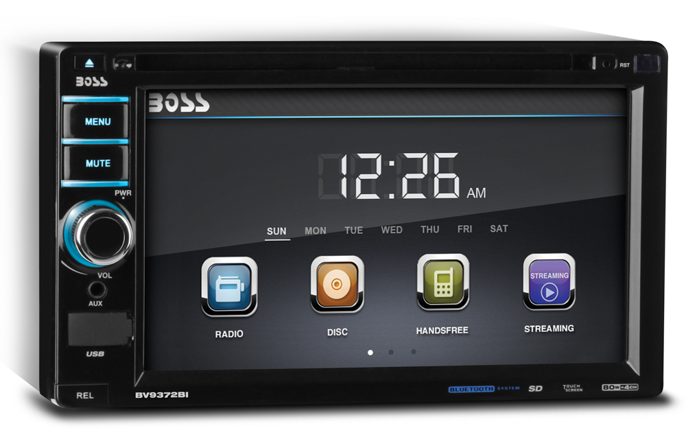 2DIN BV9372BI Boss Audio System