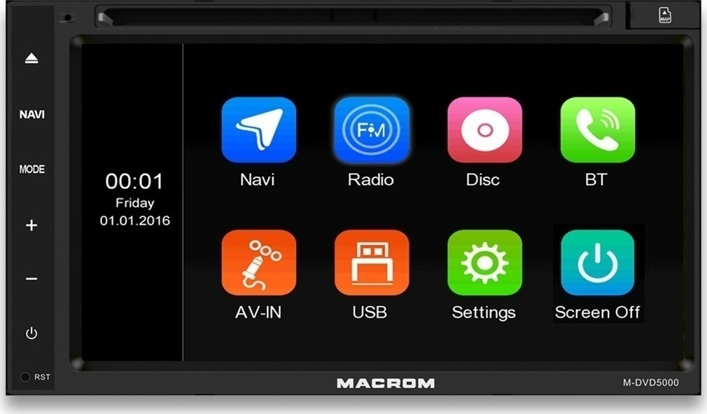 Macrom M-DVD5000