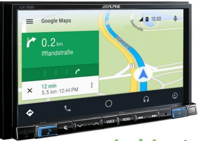 Google Maps su iLX-702D